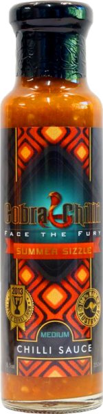 Summer Sizzle Chilli Sauce Medium (250ml)