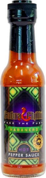Habanero Pepper Sauce Hot (150ml)
