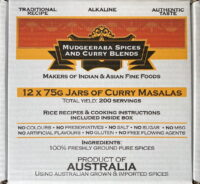 Curry Masala Box Set (12 x 75g)