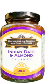 Indian Date & Almond Chutney Mild (460g)