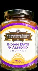 Indian Date & Almond Chutney Mild (460g)