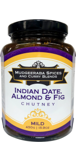 Indian Date, Almond & Fig Chutney Mild (450g)