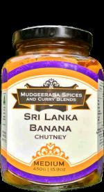 Sri Lanka Banana Chutney Medium (450g)