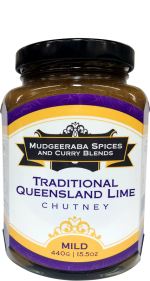 Traditional Queensland Lime Chutney Mild (440g)