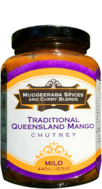 Traditional Queensland Mango Chutney Mild (440g)