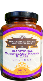Traditional Queensland Mango & Date Chutney Mild (430g)