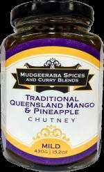 Traditional Queensland Mango & Pineapple Chutney Mild (430g)