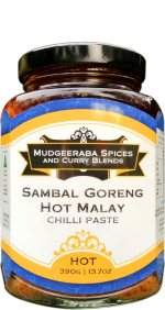 Sambal Goreng Malay Chilli Paste Hot (390g)