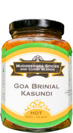 Goa Brinjal Kasundi Hot (410g)