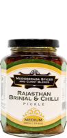 Rajasthan Brinjal & Chilli Pickle Medium (380g)