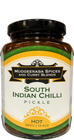 South Indian Chilli Pickle Hot (380g)